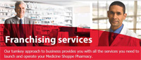 Franchise opportunities Medicine shoppe