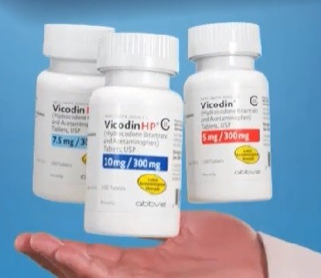 what is generic vicodin called to communion