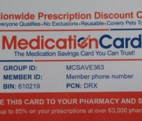 Medication Card BEST