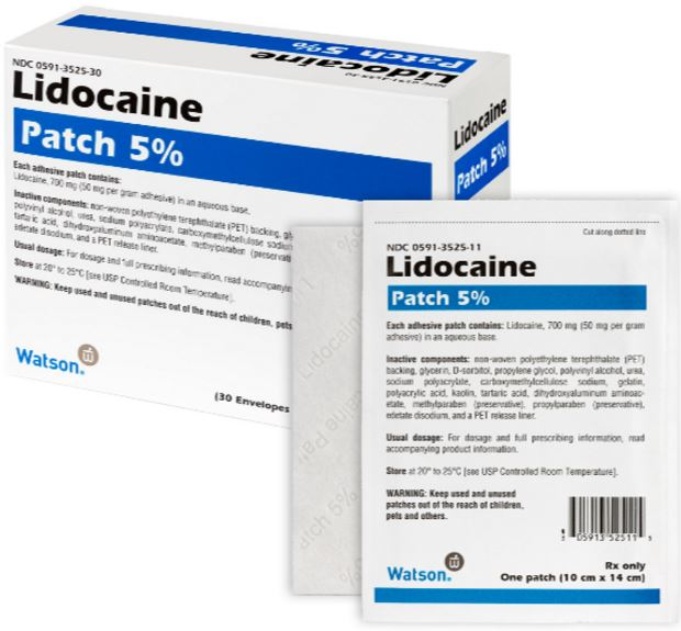 what are lidocaine patches