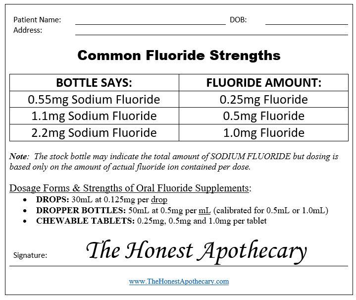 fluoride-prescription